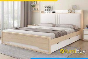 Mẫu giường ngủ đẹp kiểu dáng hiện đại