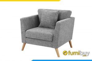 Ghế sofa đơn nỉ đẹp FB20198