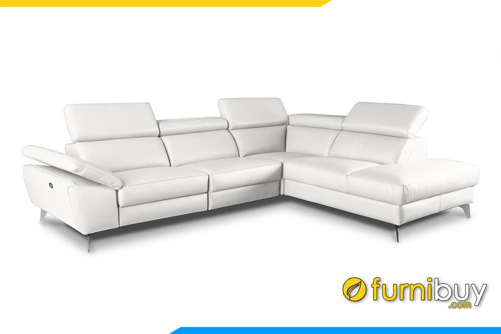 Ghế sofa đẹp kiểu góc