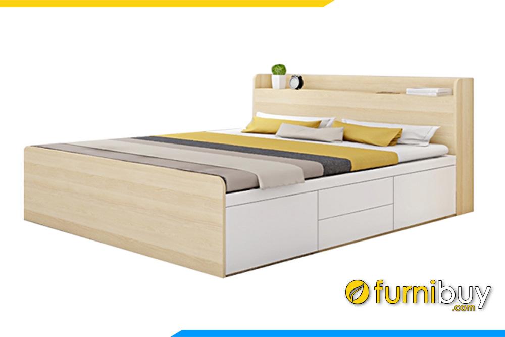 Mẫu giường ngủ đẹp giá rẻ FBG002