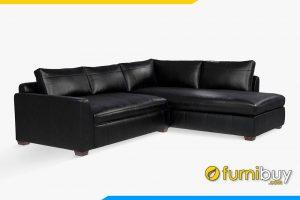 Ghế sofa da phòng khách sang trọng FB20049