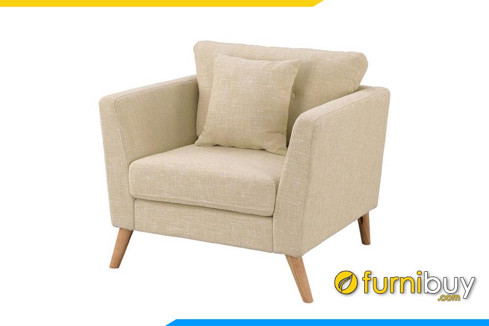 Mẫu ghế sofa đơn nhỏ gọn