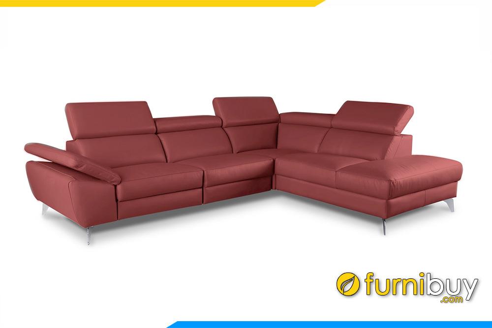 Mẫu ghế sofa góc đẹp FB20196