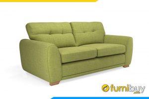 Mẫu ghế sofa văng nỉ đẹp 2 chỗ ngồi