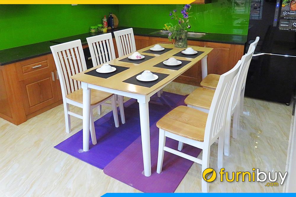 Bộ bàn ghế ăn đẹp giá rẻ