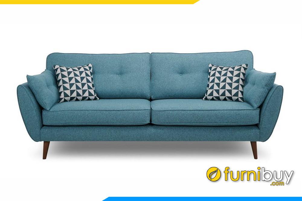 Hình ảnh ghế sofa văng nỉ hiện đại FB20005