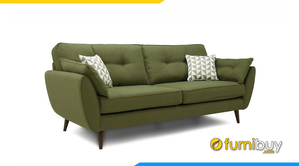 Sofa màu xanh rêu