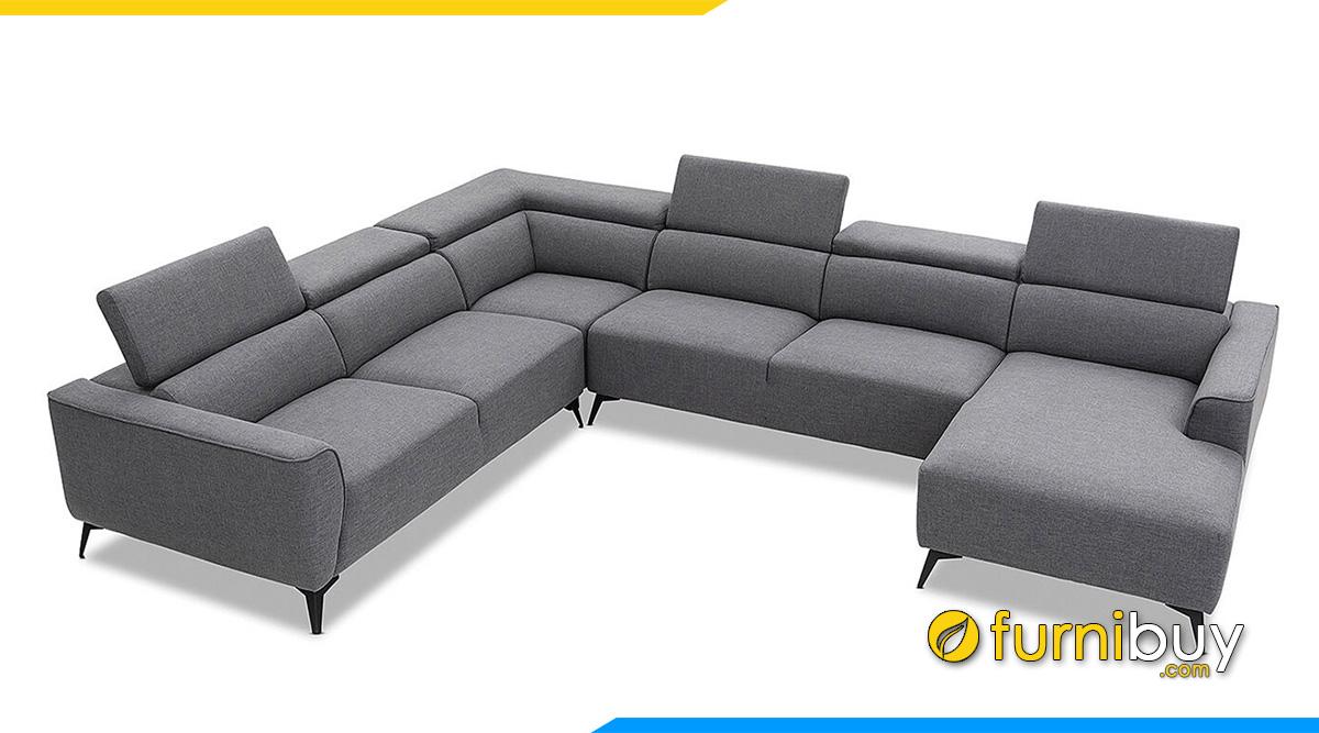 mẫu sofa chữ U đẹp giá rẻ