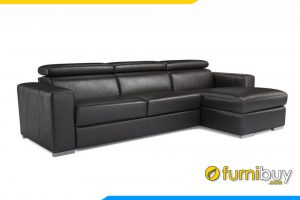 Mẫu ghế sofa da đẹp sang trọng