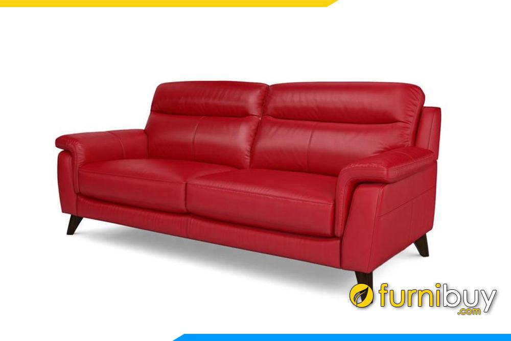 Ghế sofa với gam màu đỏ trẻ trung, nổi bật. Với 200 màu da để quý khách hàng lựa chọn