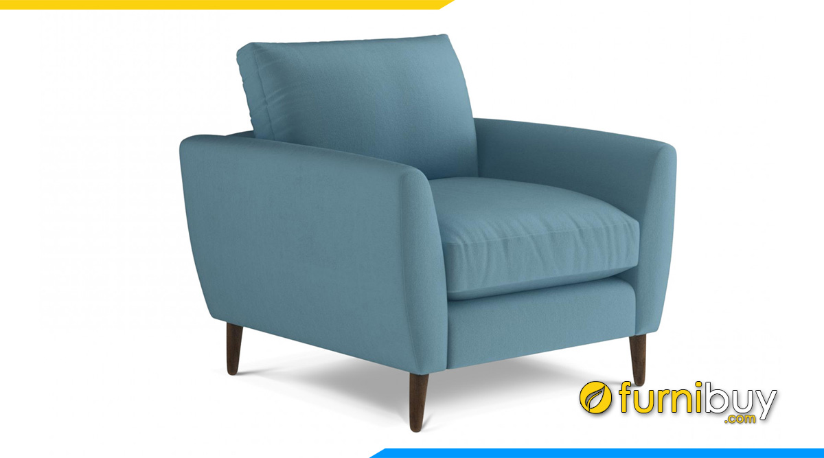 Mẫu ghế sofa nỉ 1 chỗ ngồi