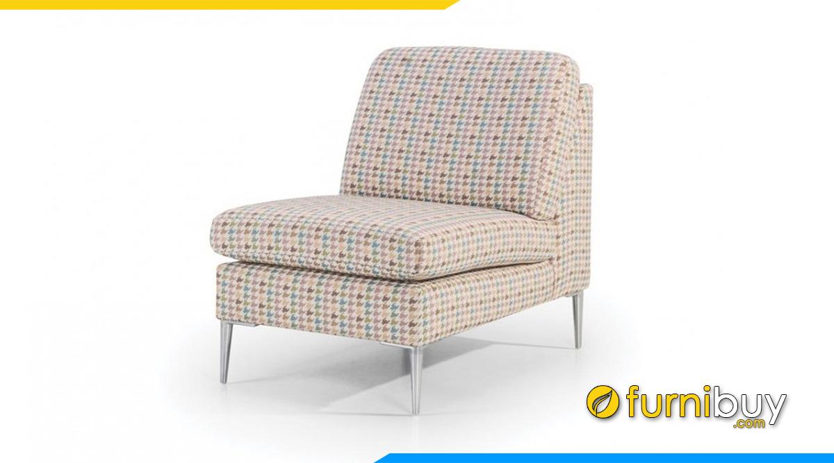 Ghế sofa 1 chỗ không tay vịn