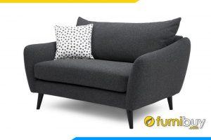 Ghế sofa đơn FB20032 chất liệu nỉ mềm mịn hiện đại