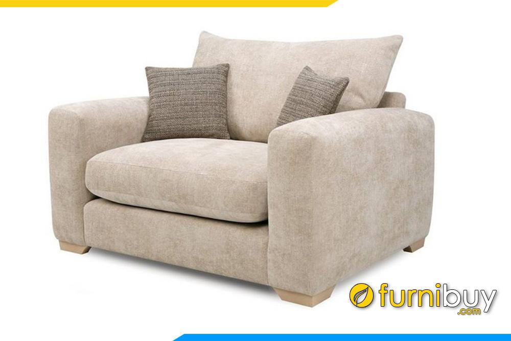 Ghế sofa đơn thiết kế nhỏ gọn tận dụng mọi không gian kê khác nhau đem đến những múc địch sử dụng hoàn hảo