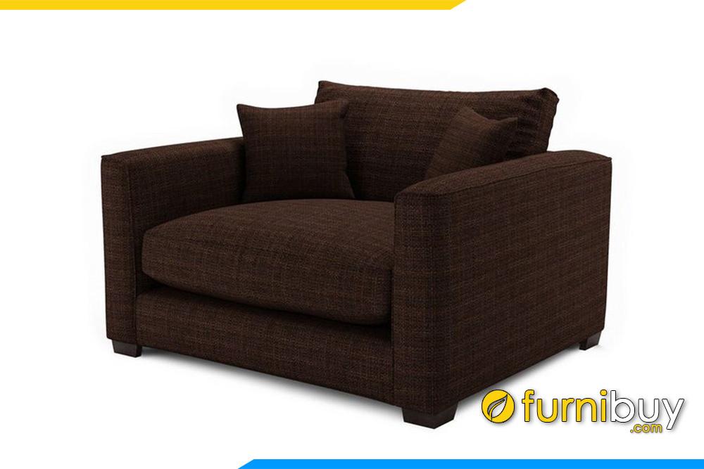 Mẫu ghế sofa với gam màu nâu tăng sự ấm áp cho căng phòng của bạn