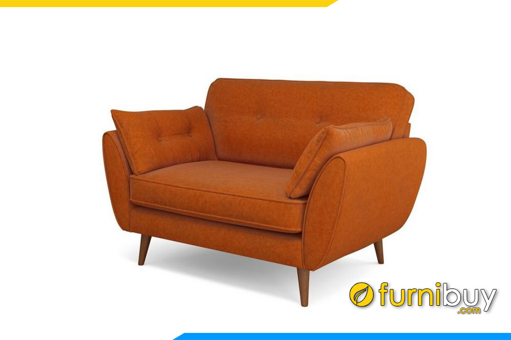 Với gam màu cam trẻ trung, năng động cho không gian phòng khách hiện đại