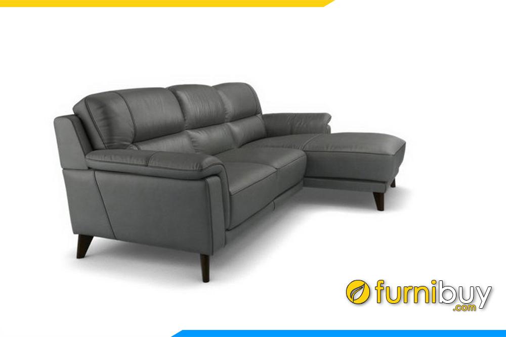 Ghế sofa FB20012 được làm chất liệu da dễ dàng lau chùi, vệ sinh mỗi khi bị bẩn