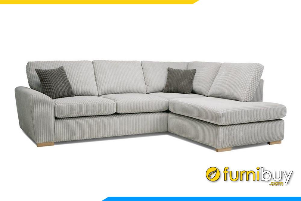 Bộ sofa với gam màu kem trắng được ưa chuộng. Ngoài ra còn khoảng 400 màu nỉ để lựa chọn