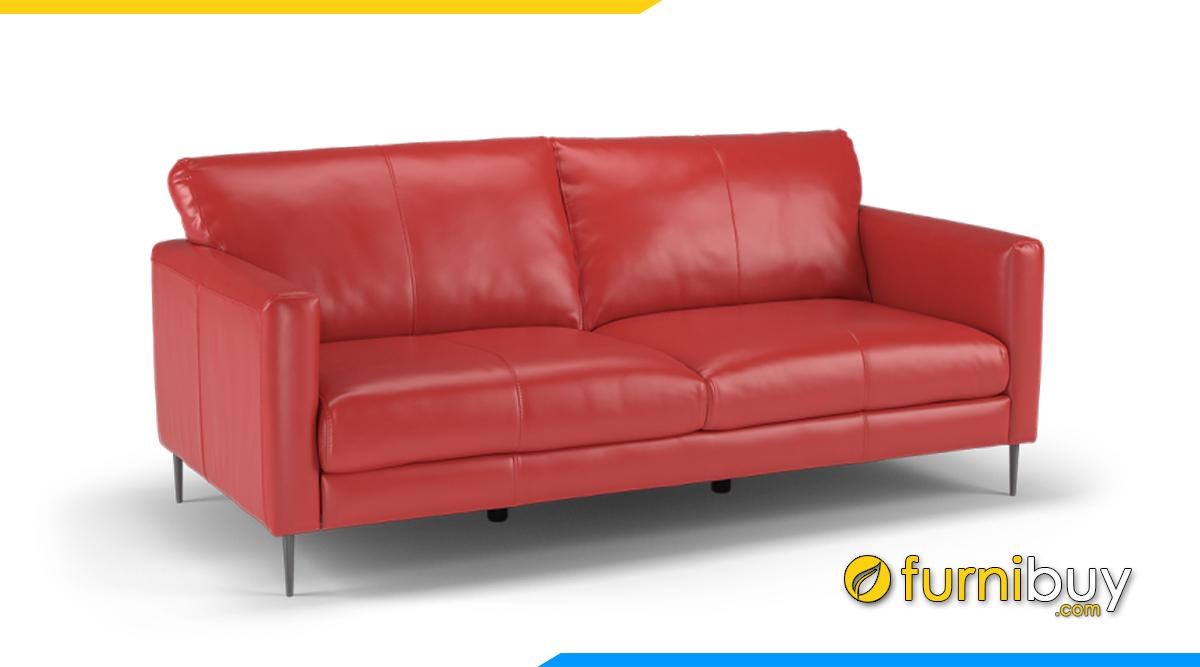Sofa màu đỏ kê phòng ngủ