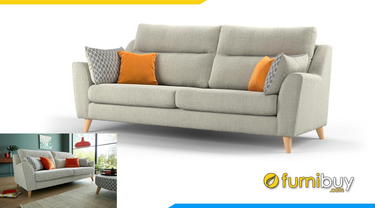 Mẫu sofa văng 2 chỗ tựa lưng cao