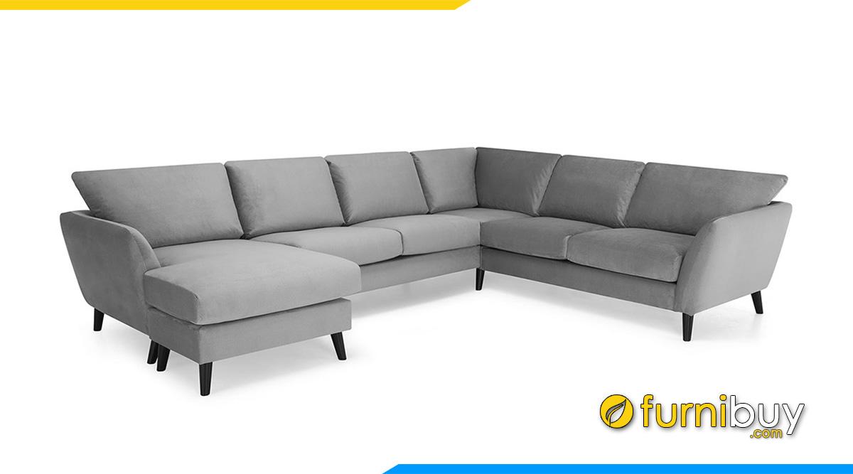 Mẫu ghế sofa phòng khách rộng giá rẻ
