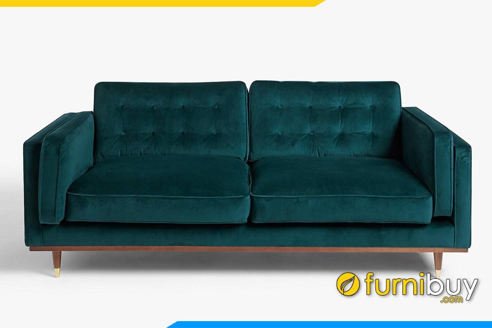 ghe sofa ni vang mau xanh fb20061