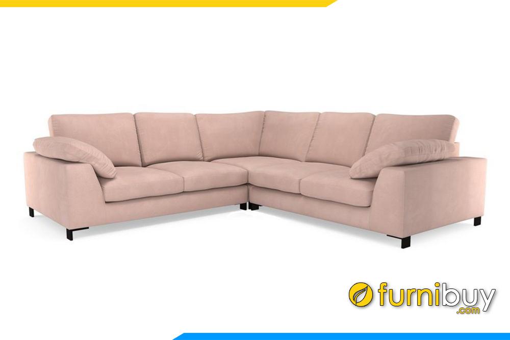 Ghế sofa góc FB20020 với chất liệu vỏ bọc bằng nỉ nhập khẩu cao cấp