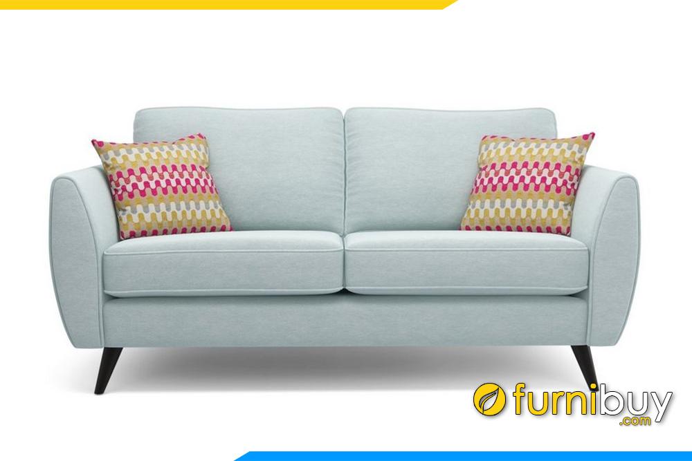 Ghế sofa F20008 được thiết kế nệm ngồi tháo rời giúp việc vệ sinh trở lên dễ dàng hơn