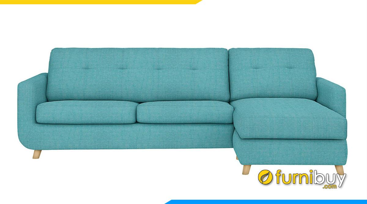 Sofa nỉ đẹp giá rẻ cho phòng khách