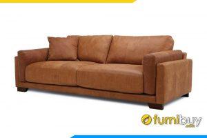 Ghế sofa fb20014 được làm bằng chất liệu da cao cấp giúp cho bộ sofa trở lên sang trọng hơn
