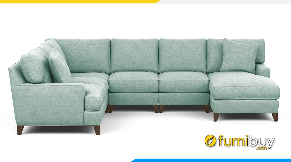 Mẫu ghế salon phòng khách rộng