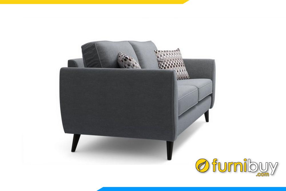 Ghế sofa được thiết kế bề ngang hẹp làm tăng diện tích phòng khách gia đình