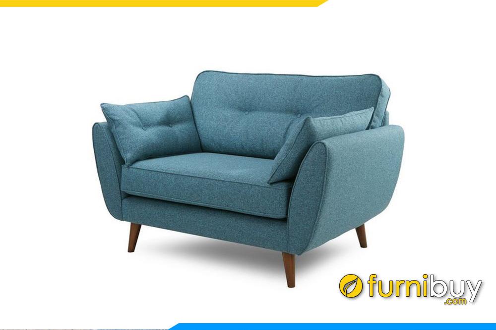 sofa don 1 cho ngoi nem ni mau xanh nuoc bien