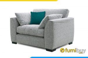 Mẫu ghế sofa đơn FB20030 được làm chất liệu nỉ mềm mại rất thoải mái