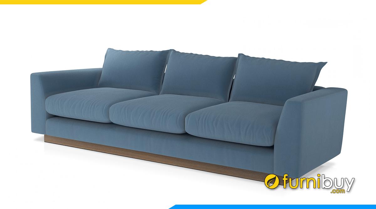 ghế sofa văng cho phòng khách nhỏ