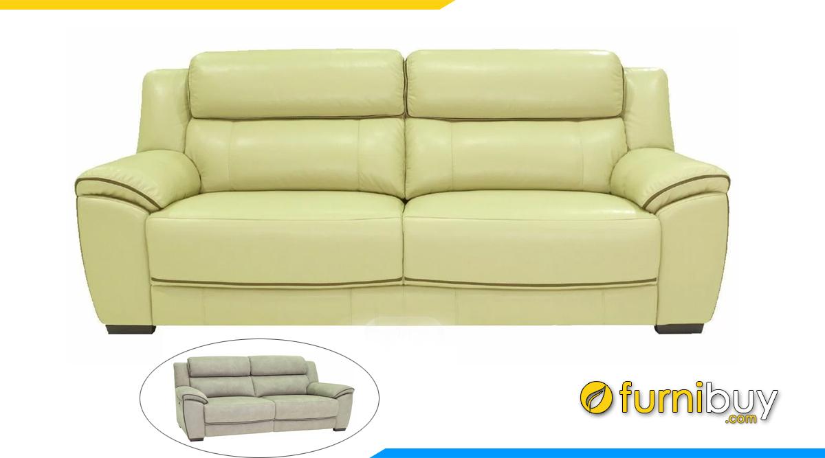Sofa văng da đẹp sang trọng