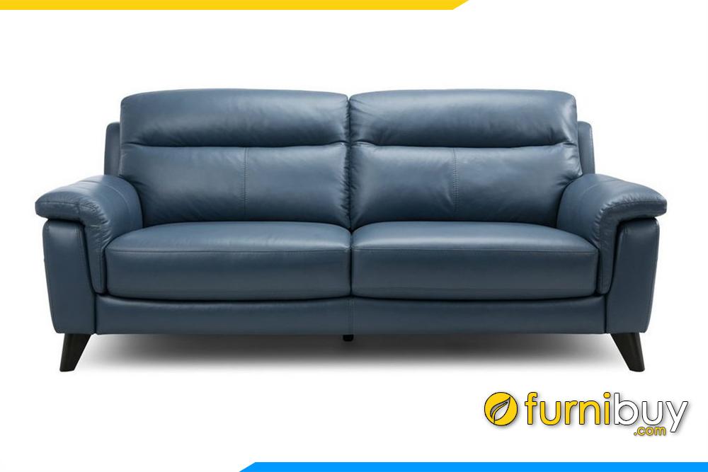 Hình ảnh ghế sofa văng da FB20013 cho phòng khách hiện đại