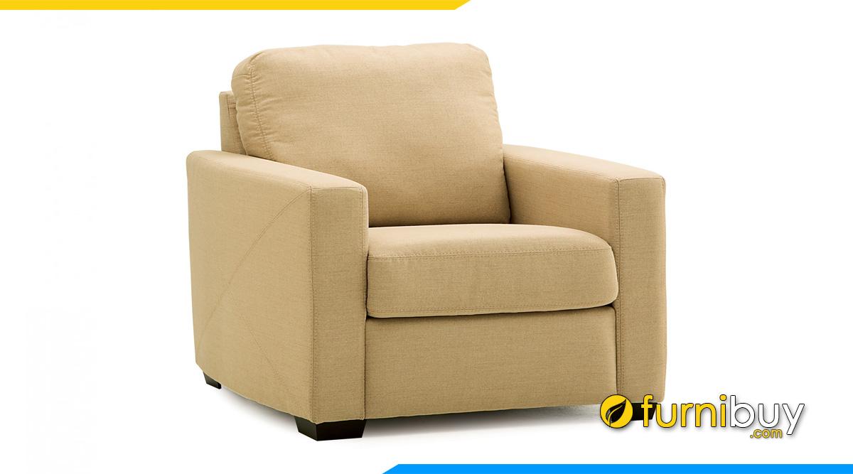 Sofa đơn dáng vuông sang trọng