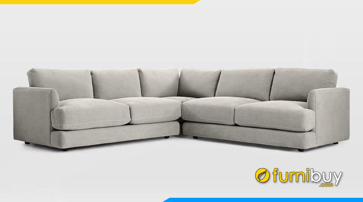 chọn sofa phòng khách nỉ đẹp