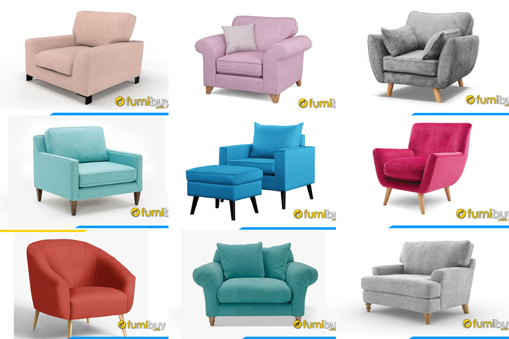Các mẫu ghế sofa đơn 1 chỗ đẹp