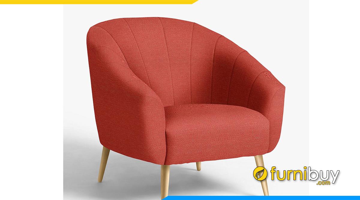 Ghế sofa 1 chỗ dáng bán nguyệt