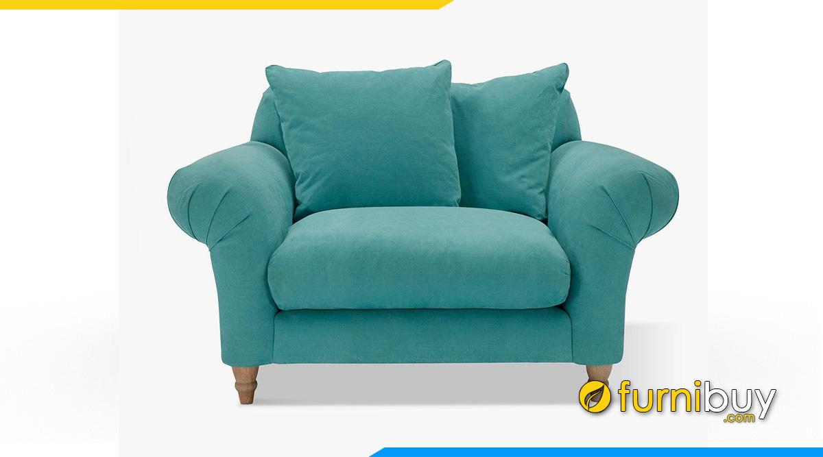 Sofa đơn dáng tân cổ điển