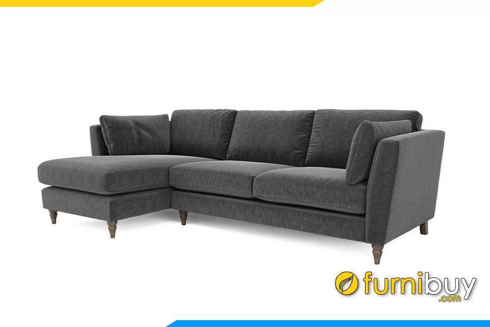 Mẫu ghế sofa nỉ đẹp giá rẻ
