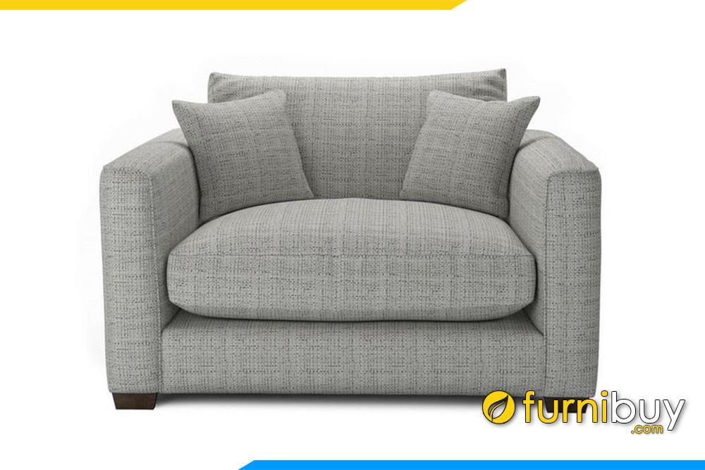 Ghế sofa đơn được thiết kế thấp tận dụng tối đa không gian nhỏ tại gia đình