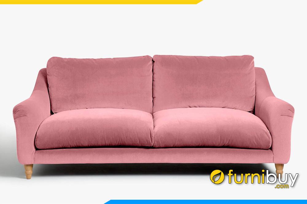 Sofa văng nỉ hiện đại FB20057