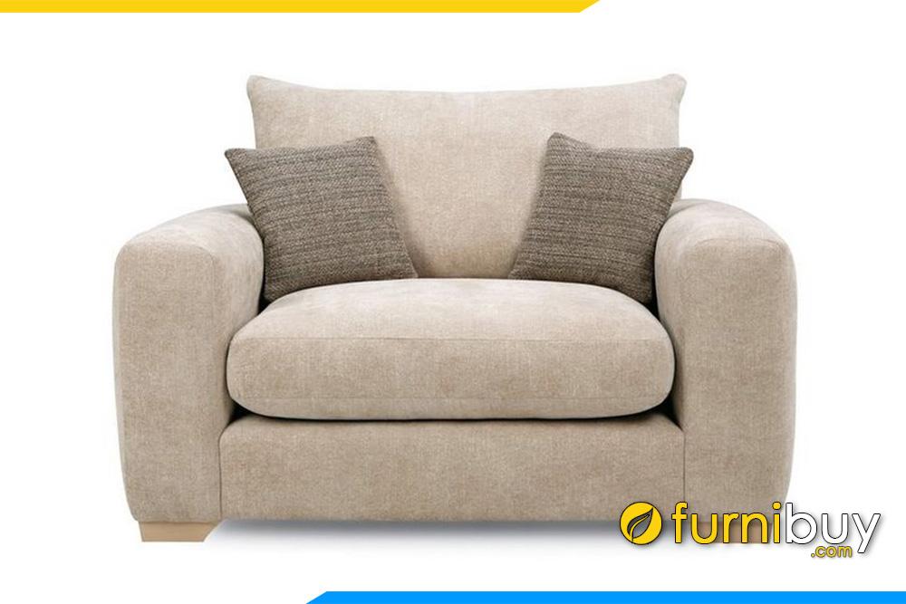 Hình ảnh mẫu ghế sofa đơn nhỏ cho không gian thư giãn riêng FB20029