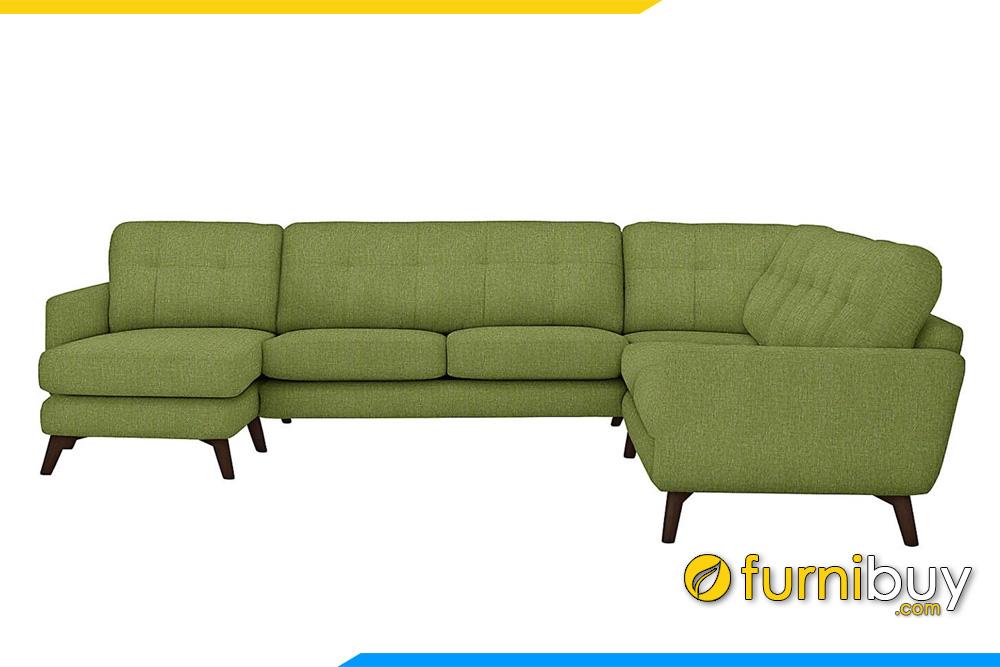 mau sofa goc ni cho phong khach rong fb20059