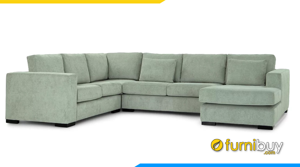 Ghế sofa nỉ đẹp giá rẻ kích thước lớn