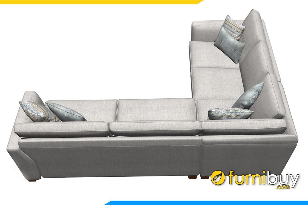 FB20021 được thiết kế kiểu dáng góc rất gọn gàng, tiện lợi cho việc sắp xếp vị trí kê trong phòng khách