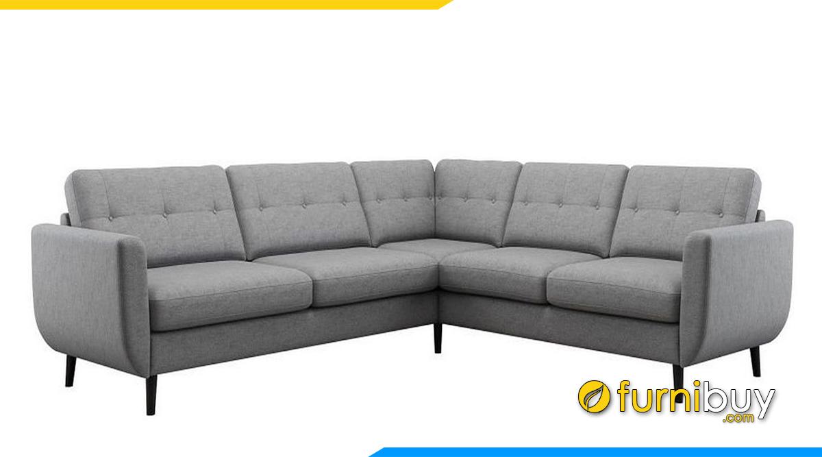 Sofa phòng khách đẹp kiểu chữ V